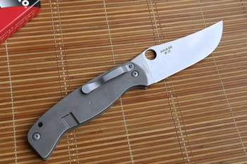 JUFULE C185 FARID-K2 Folding Blade CPM10V Blade Titanium Handle Tactical Camping Hunting Survival kitchen Outdoor EDC Tool Knife